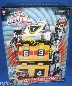 Power Rangers Turbo Deluxe Artillatron New Megazord