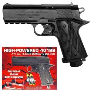 Firepower 401 SEMI AUTO CO2 BB Hand Gun fps 380
