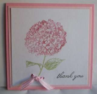 Stampin Up handmade greeting card thank you PY LOT