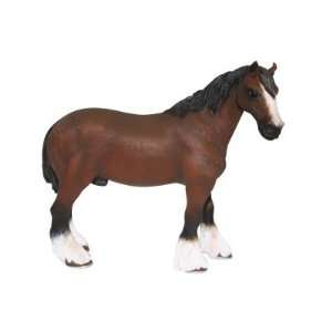 X Large Shire Horse Bay Figure Toys & Games