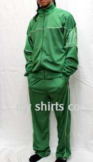 Nike Authentic Vintage Mens Track Suit Green