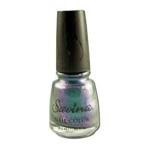 Earthly Delights Savina Non Toxic Nail Polish: Black Pearl