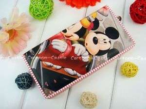 Mickey Mouse Bifold Long Wallet Purse Card Holder 26553