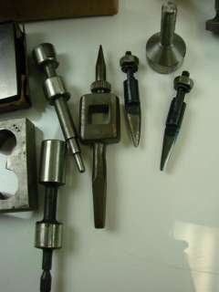 Lot Of Lathe High speed Drill Bit Key Seat Cutter Tool Tap & Die Bay