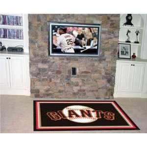 Exclusive By FANMATS MLB   San Francisco Giants 4 x 6 Rug