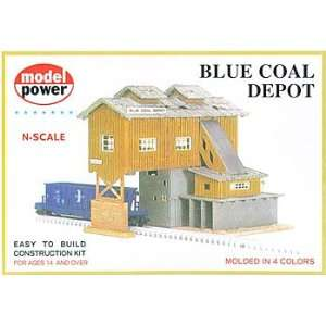 Model Power   Blue Coal Depot Kit N Toys & Games