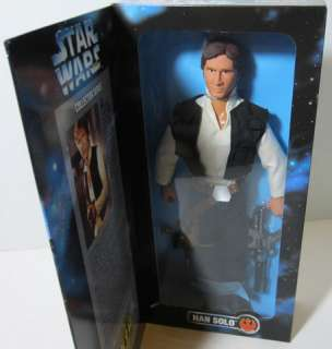 1996 STAR WARS Collector Series 12 HAN SOLO ACTION FIGURE Doll By