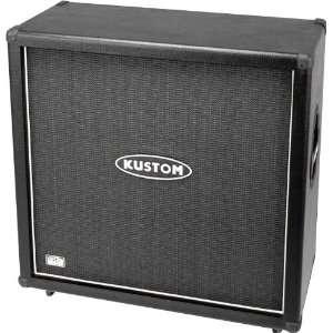 Kustom PRO412A 260W 4x12 Guitar Speaker Cabinet Black