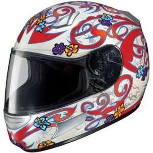 HJC CL SP Lola MC 1 Full Face Motorcycle Helmet Red Large