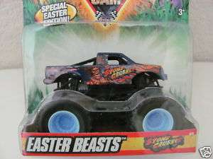 HOT WHEELS 2010 MONSTER JAM EASTER BEASTS STONE CRUSHER