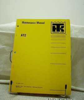 Thermo King Air Condition AT2 X426 Maintenance Manual