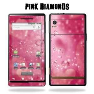 Motorola Droid Phone Protective Vinyl Skin Verizon   Pink