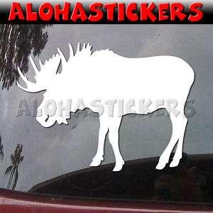 BULL MOOSE Vinyl Decal Hunting Car Truck Sticker B166