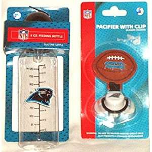 NFLs Carolina Panthers Baby Bottle & Pacifier Combo Baby