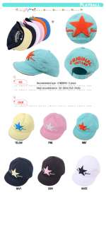 BABY TODDLER KID BOYS GIRLS BASEBALL HAT BALL CAP SUPER STAR