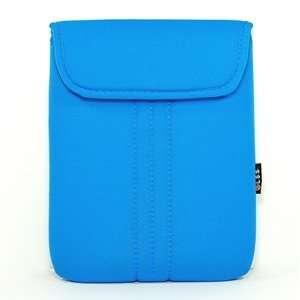 Light Blue Neoprene/Cotton 9.7 9 inch Laptop notebook computer case