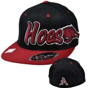 NCAA Arkansas Razorbacks Hogs Top of World Flex Fit Flat