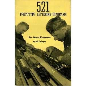 521 Prototype Lettering Diagrams (PLD 1): Books