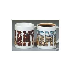 U. S. Army, US Army, Color Changing Coffee Mug Kitchen