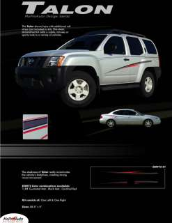 TALON Vinyl GRAPHICS Decals Stripes Nissan Xterra NEW*