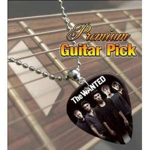 The Wanted Premium Guitar Pick Necklace Musical