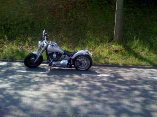 Top gepflegte Harley Davidson Fat Boy Custom Bike in Baden