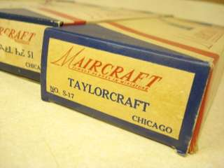 OF 4 ** MAIRCRAFT SOLID WOOD MODEL AIRPLANE KITS **over 50 years old