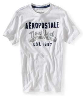 Aeropostale mens embellished NEW YORK tee t shirt   Style 2345