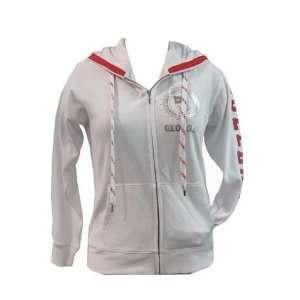 Georgia Bulldogs UGA White Designer Jacket With