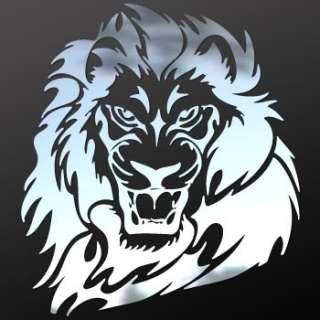 Vinyl Decal helemet Sticker Lion Tiger Wild Cat ZZ9ZK