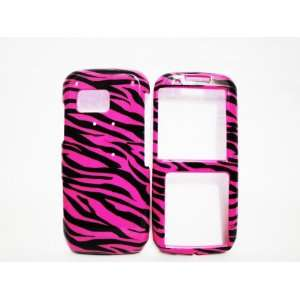 Samsung Rant M540 Zebra Pink Black Design Case Cell