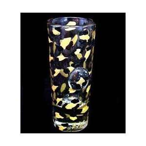 Gold Leopard Design   Hand Painted   Collectible Shooter