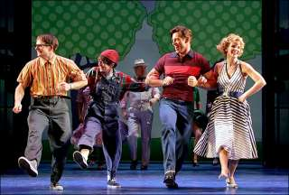PAJAMA GAME HARRY CONNICK JR, KELLI OHARA Cast Signed Broadway