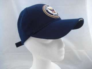 NEW UNITED STATES NAVY HAT BASEBALL CAP USA SEAL US