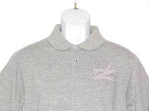 ZOO YORK New Lenox Heather Gray Polo Shirt Choose Size
