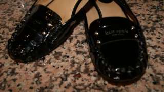 KATE SPADE LINDSAY PATENT LEATHER FLATS SHOES SIZE 10M