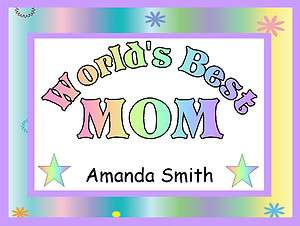 Worlds Best Aunt Sister Mother Grandmother Daughter Personalized