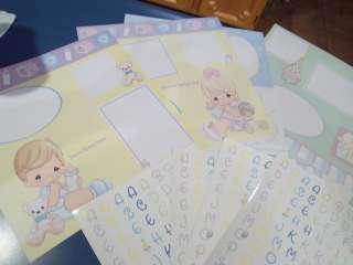 Precious Moments Baby 12 Photo Album Scrapbook Kit FREE