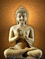 Ancient Indian art Buddha sculpture statue buddhist