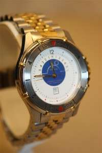 Tidal Chronometer Two Tone Stainless Steel Watch
