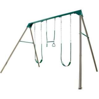 Lifetime A Frame Deluxe Swing Set 290038