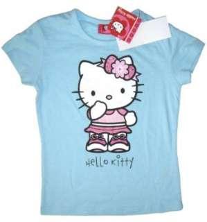 Hello Kitty T shirt KITTY BABE mit Glitzermotiv und kleinen