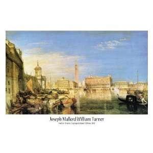 Joseph William Turner   Seufzer Brücke, Dogenpalast Und Zollhaus