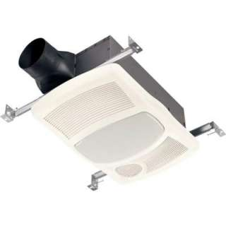 NuTone 100 CFM Ceiling Exhaust Bath Fan with Light and Heater 765HL at