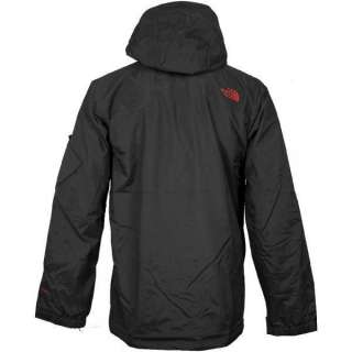 THE NORTH FACE MENS DECAGON WATERPROOF INSULATED JACKET   BLACK   S M