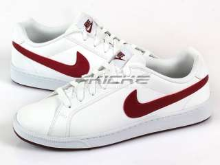 Nike Court Majestic White/Team Red White Mens 2011 Classic Casual