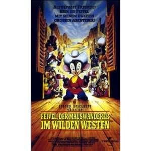 Feivel, der Mauswanderer im Wilden Westen [VHS] James Horner, Phil