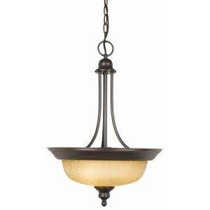 Find a Design House Bristol 2 Light Oil Rubbed Bronze Pendant Light