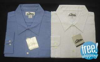 NWT NEW MEN BUTTON DOWN DRESS SHIRT 4XLT 6XLT TALL LONG