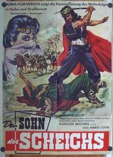 plakat von 1963 ca 59 x 84 cm zustand note 2 anmerkung gordon scott